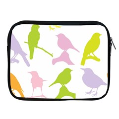 Birds Colourful Background Apple Ipad 2/3/4 Zipper Cases by Celenk