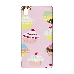 Cupcakes Wallpaper Paper Background Sony Xperia Z3+