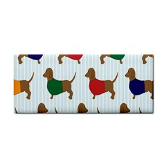 Dachshund Dog Cartoon Art Cosmetic Storage Cases by Celenk