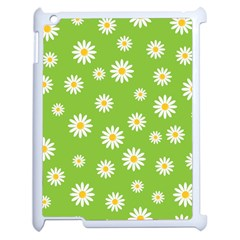 Daisy Flowers Floral Wallpaper Apple Ipad 2 Case (white) by Celenk