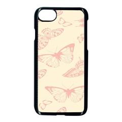 Butterfly Butterflies Vintage Apple Iphone 8 Seamless Case (black) by Celenk