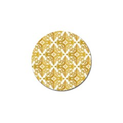 Gold Pattern Wallpaper Fleur Golf Ball Marker (10 Pack) by Celenk