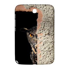 Owl Hiding Peeking Peeping Peek Samsung Galaxy Note 8 0 N5100 Hardshell Case