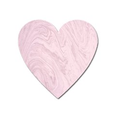 Marble Background Texture Pink Heart Magnet by Celenk