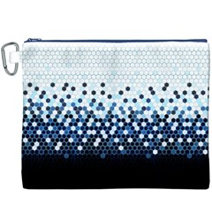 Tech Camouflage Canvas Cosmetic Bag (xxxl) by jumpercat