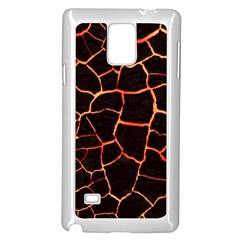Magma Samsung Galaxy Note 4 Case (white) by jumpercat