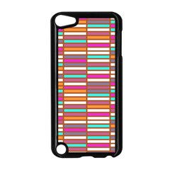 Color Grid 02 Apple Ipod Touch 5 Case (black) by jumpercat