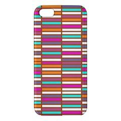 Color Grid 02 Apple Iphone 5 Premium Hardshell Case