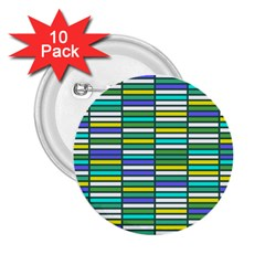 Color Grid 03 2 25  Buttons (10 Pack)  by jumpercat