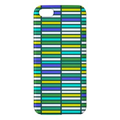 Color Grid 03 Iphone 5s/ Se Premium Hardshell Case by jumpercat