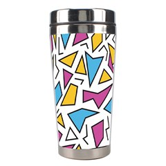 Retro Shapes 01 Stainless Steel Travel Tumblers by jumpercat