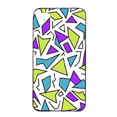 Retro Shapes 02 Apple Iphone 4/4s Seamless Case (black) by jumpercat