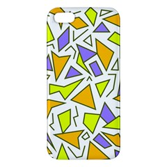 Retro Shapes 04 Iphone 5s/ Se Premium Hardshell Case by jumpercat