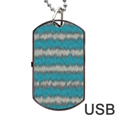 Cheshire Cat 02 Dog Tag Usb Flash (one Side) by jumpercat