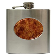 Abstract Flames Fire Hot Hip Flask (6 Oz) by Celenk