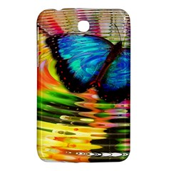 Blue Morphofalter Butterfly Insect Samsung Galaxy Tab 3 (7 ) P3200 Hardshell Case  by Celenk