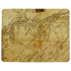 Vintage Map Background Paper Jigsaw Puzzle Photo Stand (rectangular) by Celenk