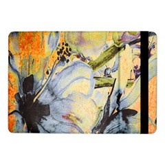 Flower Texture Pattern Fabric Samsung Galaxy Tab Pro 10 1  Flip Case by Celenk