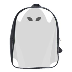 Ghost Halloween Spooky Horror Fear School Bag (xl) by Celenk