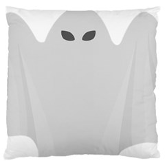Ghost Halloween Spooky Horror Fear Standard Flano Cushion Case (one Side) by Celenk