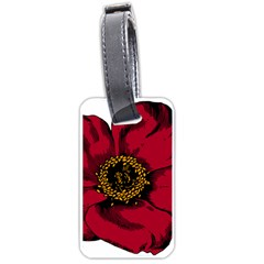Floral Flower Petal Plant Luggage Tags (one Side)  by Celenk