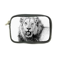 Lion Wildlife Art And Illustration Pencil Coin Purse by Celenk