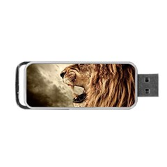 Roaring Lion Portable Usb Flash (two Sides) by Celenk