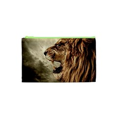 Roaring Lion Cosmetic Bag (xs) by Celenk