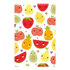 Happy Fruits Pattern Shower Curtain 48  X 72  (small)  by allthingseveryday