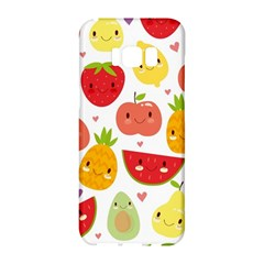 Happy Fruits Pattern Samsung Galaxy S8 Hardshell Case