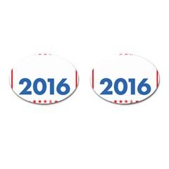 Wtf? 2016 Cufflinks (oval) by dreiser