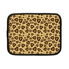 Leopard Heart 01 Netbook Case (small)  by jumpercat