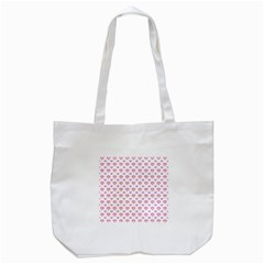 Pixel Hearts Tote Bag (white) by jumpercat