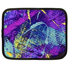 Ink Splash 01 Netbook Case (xl)  by jumpercat
