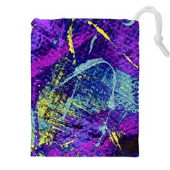 Ink Splash 01 Drawstring Pouches (xxl) by jumpercat