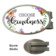 Choose Kidness Money Clips (oval)  by SweetLittlePrint