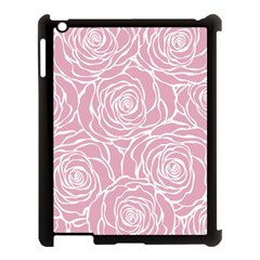 Pink Peonies Apple Ipad 3/4 Case (black) by 8fugoso
