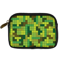 Tetris Camouflage Forest Digital Camera Cases by jumpercat