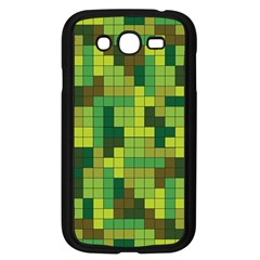 Tetris Camouflage Forest Samsung Galaxy Grand Duos I9082 Case (black) by jumpercat
