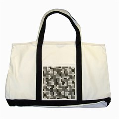 Tetris Camouflage Urban Two Tone Tote Bag by jumpercat