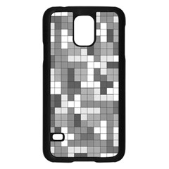 Tetris Camouflage Urban Samsung Galaxy S5 Case (black) by jumpercat