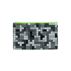 Tetris Camouflage Urban Cosmetic Bag (xs) by jumpercat
