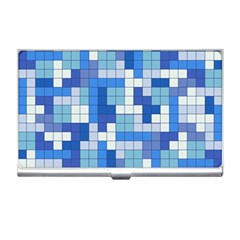 Tetris Camouflage Marine Business Card Holders by jumpercat