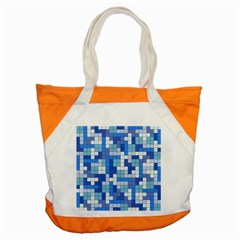 Tetris Camouflage Marine Accent Tote Bag by jumpercat