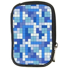 Tetris Camouflage Marine Compact Camera Cases by jumpercat