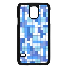 Tetris Camouflage Marine Samsung Galaxy S5 Case (black) by jumpercat