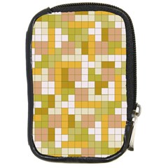 Tetris Camouflage Desert Compact Camera Cases by jumpercat