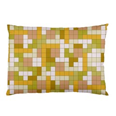 Tetris Camouflage Desert Pillow Case (two Sides) by jumpercat