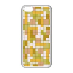 Tetris Camouflage Desert Apple Iphone 5c Seamless Case (white) by jumpercat