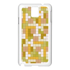 Tetris Camouflage Desert Samsung Galaxy Note 3 N9005 Case (white) by jumpercat